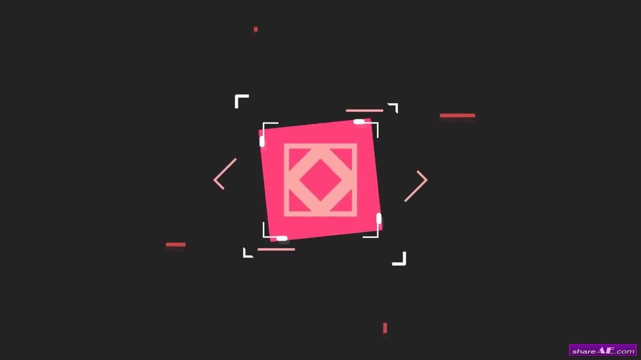 Square Shape Logo 2 - Premiere Pro Templates » free after ...