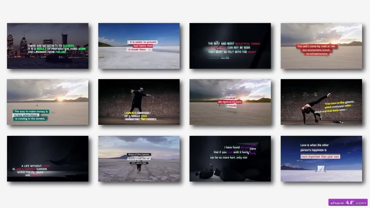 Social Media Titles Pack - Premiere Pro Templates