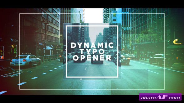 Videohive Dynamic Typo Opener 21698650