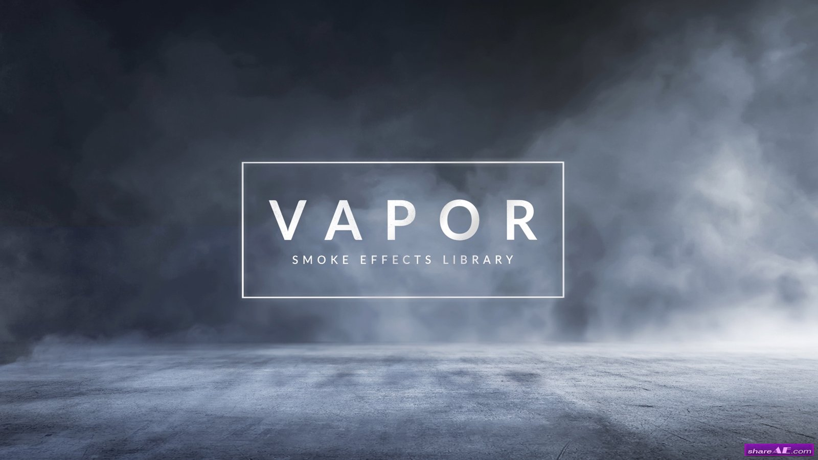 Vapor 100+ Smoke & Fog Effects (RocketStock)