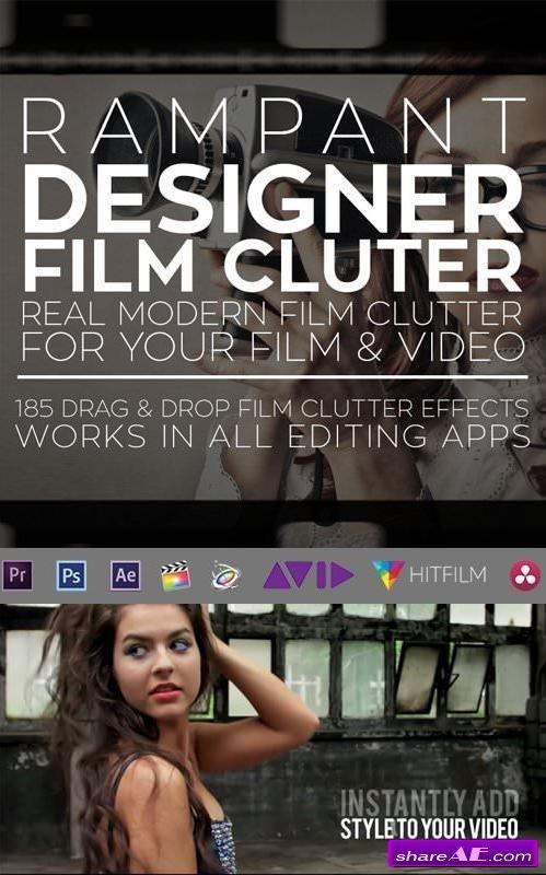 RAMPANT DESIGN TOOLS - DESIGNER FILM CLUTTER - Webmaster