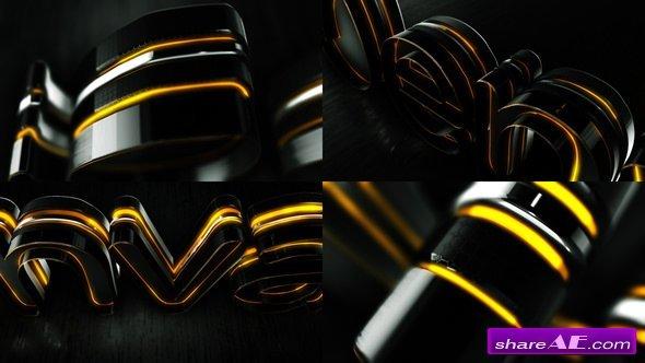 Videohive Black Elegant Logo Reveal