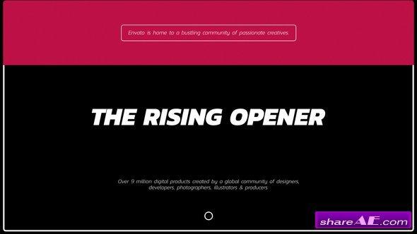 Videohive Rising Opener