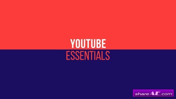 Videohive YouTube Essentials