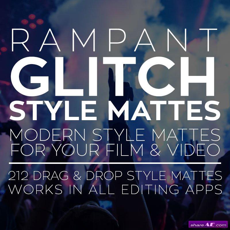 Rampant Design Tools - Glitch Style Mattes