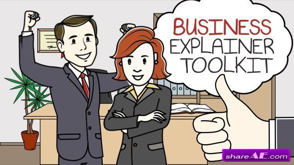 Videohive Business Explainer Toolkit