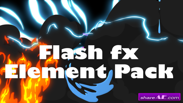 Videohive Flash Fx Element Pack - Motion Graphics