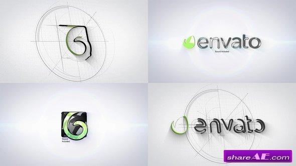 Videohive Architect Tech Logo