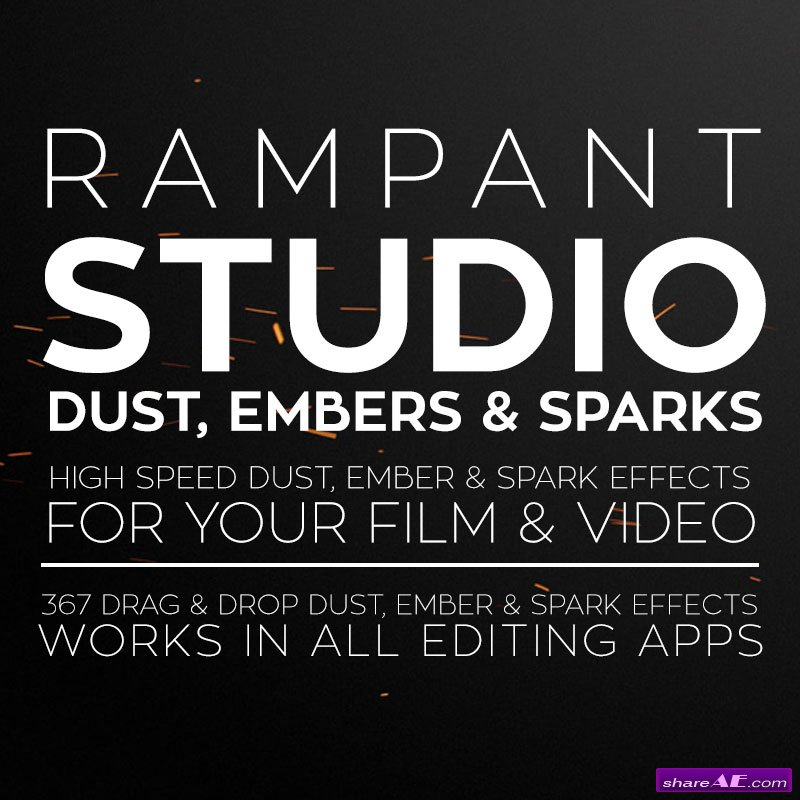Rampant Design Tools - Studio Dust, Embers & Sparks