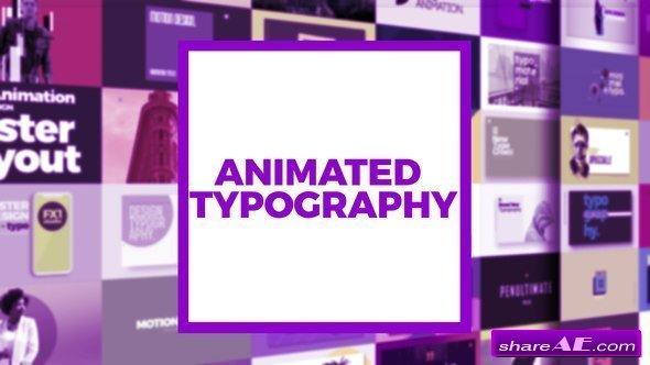 Videohive Typography Scenes