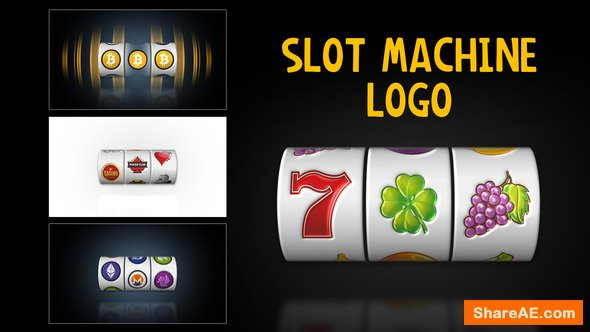 videohive slot machine logo free after effects templates. Black Bedroom Furniture Sets. Home Design Ideas
