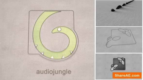 Videohive Thread - An Elegant Fabric Sewing Logo Reveal