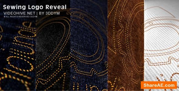 Videohive Sewing Logo Reveal