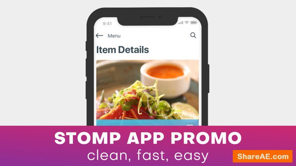Videohive Stomp App Promo