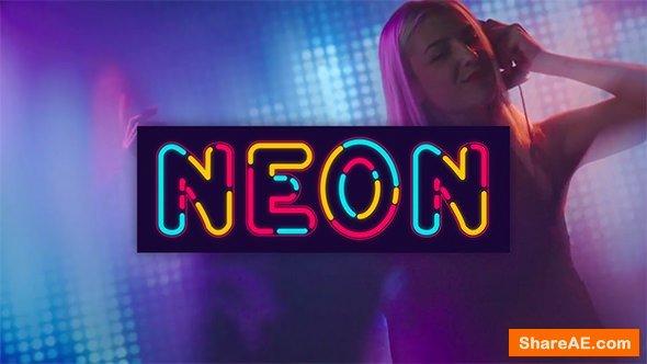 Neon Alphabet 20933440 Videohive