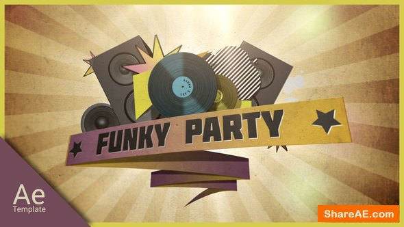 Videohive Funky party