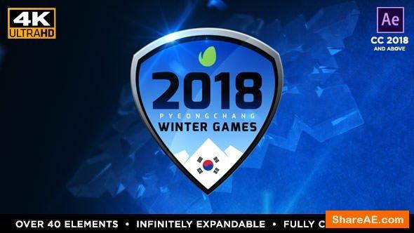 Videohive 2018 Winter Games - PyeongChang