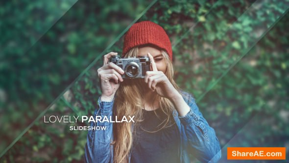 Videohive Lovely Parallax Slideshow