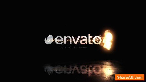 Videohive Quick Fire Swish Logo