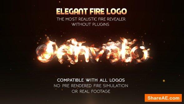 Videohive Elegant Fire Logo (No Plugin)