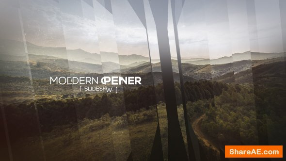 Videohive Modern Opener - Slideshow II
