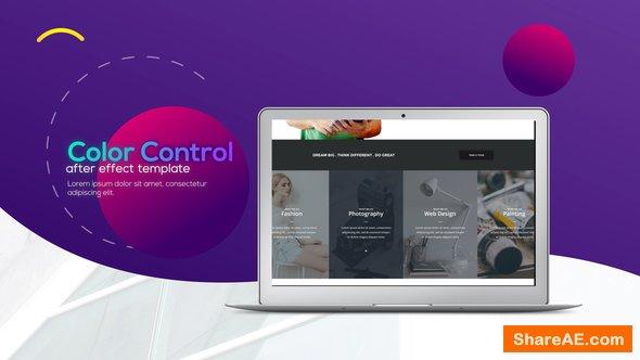 Videohive Trendy Minimalistic Web Promo