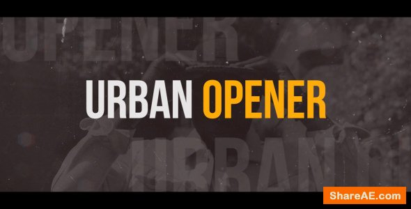 Videohive Dynamic Urban Opener - Premiere Pro Templates