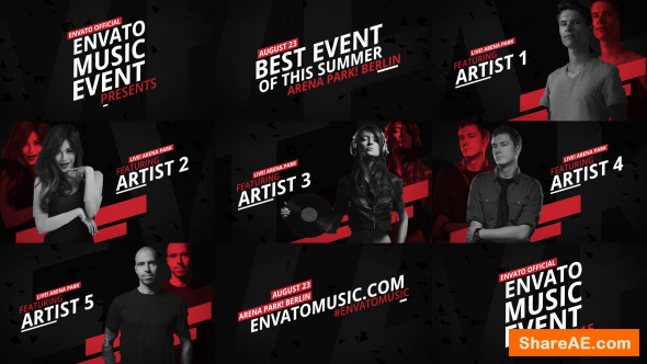 Videohive Music Event Promo 12104637
