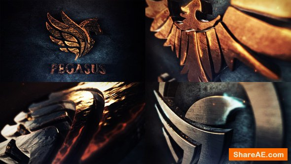Videohive Legendary 3D Logo Reveal
