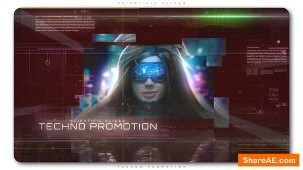 Videohive Scientific Slides Techno Promotion