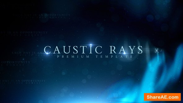 Videohive Caustic Rays Titles