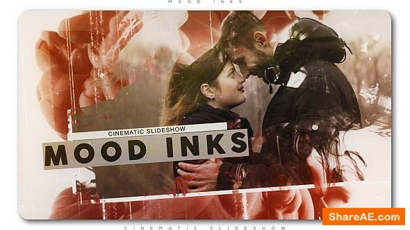 Videohive Mood Inks Cinematic Slideshow