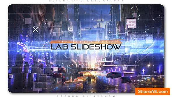Videohive Scientific Laboratory Techno Slideshow