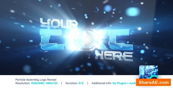 Videohive Particle Assembly Logo Reveal