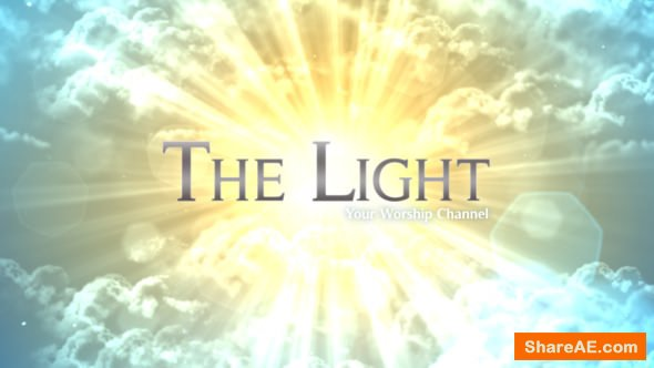 Videohive The Light - Worship Broadcast Package
