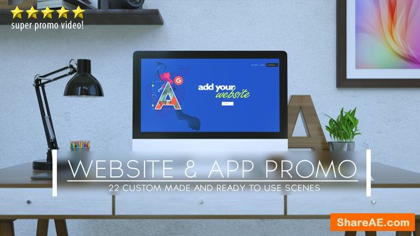 Videohive Website and App Promo