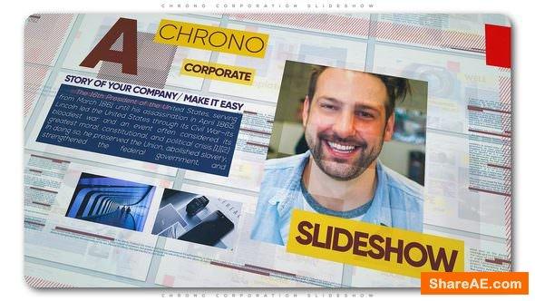 Videohive Chrono Corporation Slideshow