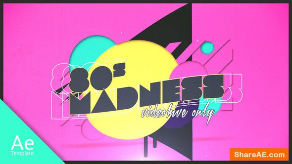 Videohive 80s Madness