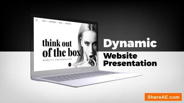 Videohive Dynamic Website Presentation