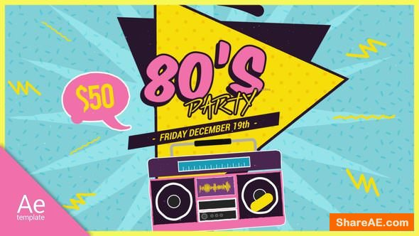 Videohive New 80s