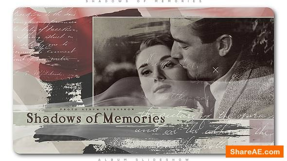 Videohive Shadows of Memories Album Slideshow
