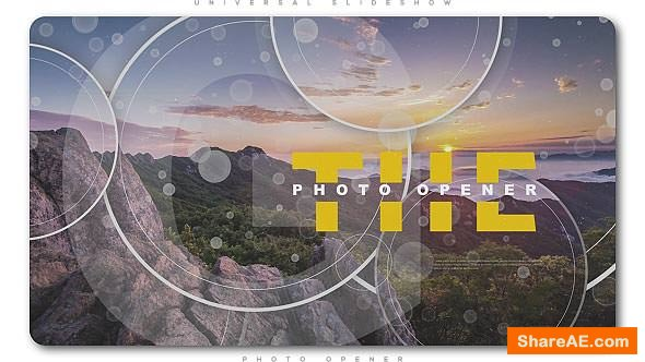 Videohive Universal Slideshow Photo Opener