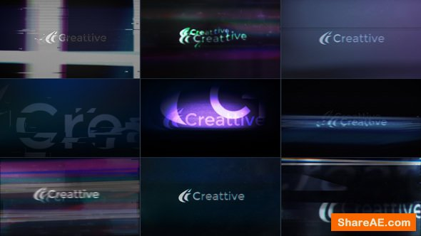 Videohive Quick Logo Sting Pack 08: Glitch & Distortion