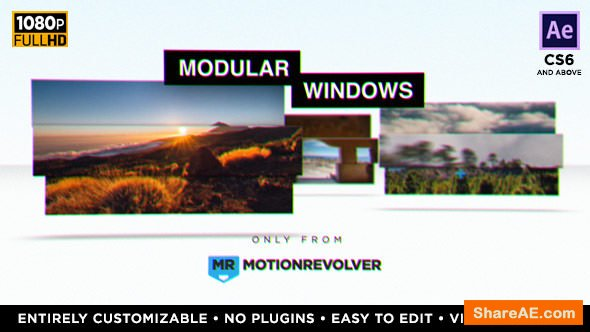 Videohive Modular Windows Slideshow Presentation