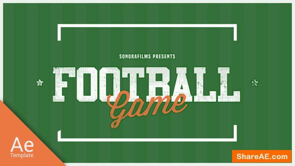 Videohive Football Game Promo