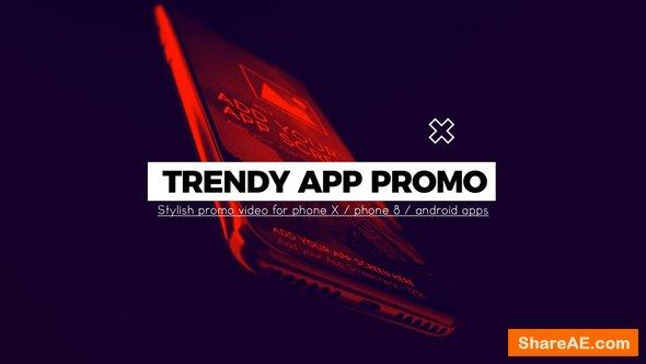 Videohive Trendy App Promo