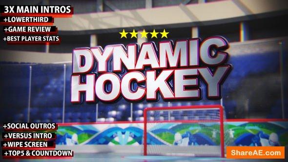 Videohive Dynamic Hockey Opener