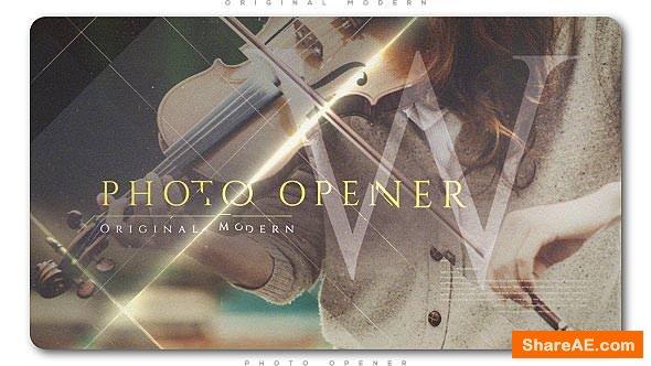 Videohive Original Modern Photo Opener