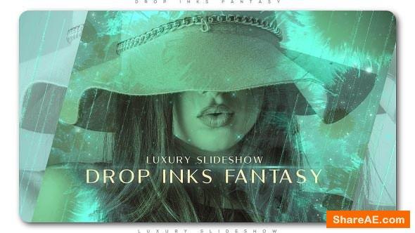 Videohive Drop Inks Fantasy Luxury Slideshow