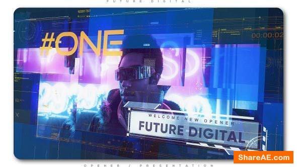Videohive Future Digital Opener Presentation